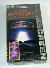 Close Encounters of the Third Kind, Widescreen Director's Cut, New Vhs Video