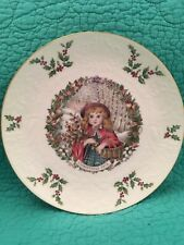 Vintage Royal Doulton 2nd In Series 1978 Christmas Plate Made In England