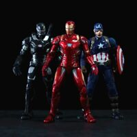 Marvel 17CM Avengers Spiderman Captain America Iron Man Hulk Action Figure Dolls