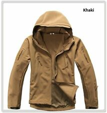 ESDY Shark Skin Soft Shell Outdoor Men's Outdoors Military Tactical Coat Jacket*