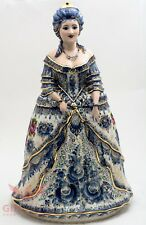 Gzhel Porcelain Catherine the Great Empress of Russia Figurine doll souvenir big