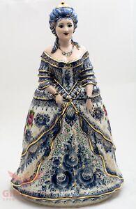 Gzhel Porcelain Catherine the Great Empress of Russia Figurine doll souvenir big