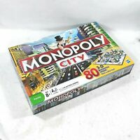 MONOPOLY CITY Edition Family Board Game 80 3D Buildings 100% Complete