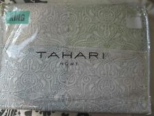 TAHARI KING Duvet Cover Set Tile MEDALLION 3PC BOHO HIPPIE  COTTON SHAMS