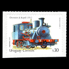 Uruguay 2004 - Steam Locomotive Train - Sc 2099 MNH