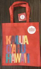 Whole Foods Hawaii Kailua reusable shopping bag, NEW