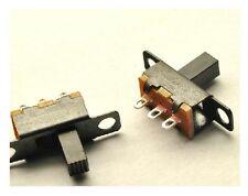 5 pcs Switch ON/OFF SS12F15 G6 3-pin Knob Height 6mm DIY DIP Through-Hole New
