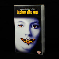 Silence Of The Lambs - Jodie Foster - Enthony Hopkins - VHS Video