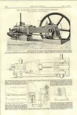 1894 100 HP robey Motore a gas