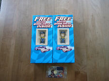 Nascar Driver Bobblehead Jeff Burton Mark Martin New MIB Dale Earnhardt Jr. Card