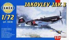 YAKOVLEV YAK 3  (FRENCH AF /NORMANDIE/ & SOVIET AF MARKINGS) 1/72 SMER
