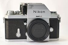 Nikon F 35mm SLR camera body & Photomic FTN finder head (c.1970) Working