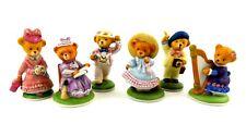 Franklin Mint Teddington Hotel Set of Six Figurines