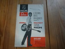 JOHNNY HALLYDAY catalogue Philips décembre 1961 n°4