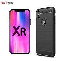 New Shockproof Silicone Matte TPU Soft Phone Case Slim Cover For Apple iPhone XR