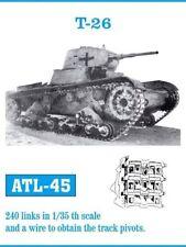 FRIULMODEL METAL TRACKS T-26 1/35 Cod.ATL-45