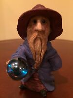 Clarecraft Hooded Wizard With Crystal Ball Made In England