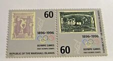 MARSHALL ISLANDS Sc #606 set ** MNH, Olympic Centenary  stamps, Fine +