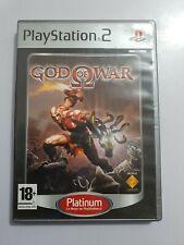 God of War PlayStation 2 PS2 PAL España COMPLETO PLATINUM