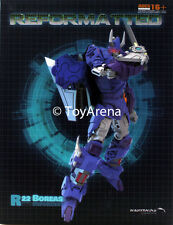 Mastermind Creations MMC R-22 Reformatted Boreas Action Figure (IDW Cyclonus)