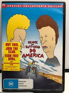 Beavis and Butt Head Do America - DVD - AusPost with Tracking