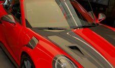 PORSCHE GT2 GT 3 RS  FRONT FENDER TRIM R & L ORIGINAL PORSCHE  OEM CARBON FIBER