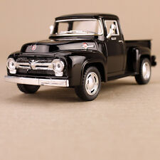 Black 1956 Ford F-100 Ute Pick-up 1:38 Scale Die-cast Collectible Detailed