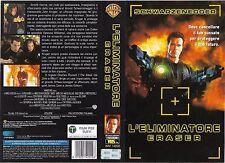 L'ELIMINATORE - ERASER (1996) vhs ex noleggio