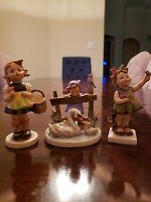 Lot 3 Hummel Goebel Figurines Germany figurines by goebel, sister, spring cheer