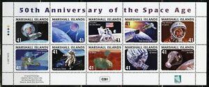 MARSHALL ISLANDS SPACE EXPLORATION  SCOTT #897 MINIATURE SHEET MINT NH