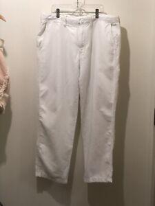 Las Mejores Ofertas En Pantalones De Lino Blanco Nautica Para Hombres Ebay