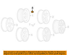 GM OEM Wheel-Lug Nut 9594681