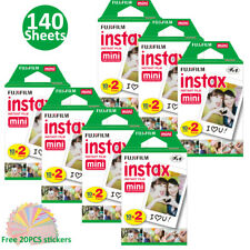 For Fujifilm Instax Mini 8 9 Polaroid 300 Film Camera 140 Sheets Instant Papers