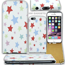 Stylish Leather Flip Fashion Case Cover for Apple iPhone 6S / 6 - Stars