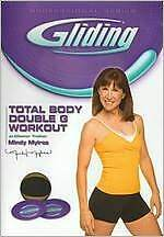 GLIDING: TOTAL BODY DOUBLE G WORKOUT (Mindy Mylrea) - DVD - Region Free