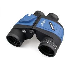 7x 50 Bak4 Binoculars Waterproof Floating Marine w/ Internal Rangefinder Compass