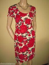 Boden Viscose Short Sleeve Round Neck Dresses for Women