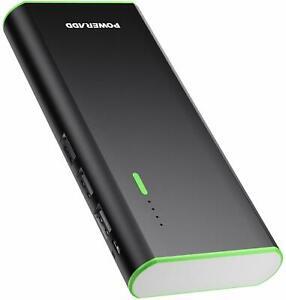 CD BATERIA EXTERNA RECARGABLE 10000mAh 3 USB  CARGA RAPIDA IPHONE SAMSUNG