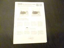Original Service Manual Saba PSP 244 PSP 248