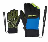 Ziener Herren Skihandschuhe GARY AS® glove schwarz grau