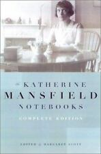 Katherine Mansfield Notebooks: Complete Edition: By Mansfield, Katherine