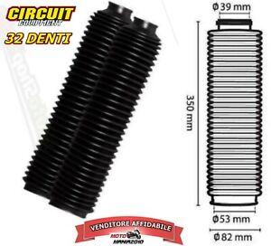 Soffietti Forcelle Per Yamaha XT 600 e 660 , 32 Denti COLORE NERO CISS004