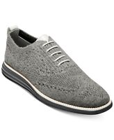 Cole Haan Men's Original Grand Stitchlite Wool Oxford Size 13M Gray Magnet