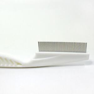 Head Lice Comb Fine Toothed Matal flea Flee Pet Dense Tooth CombMetal Head Lice