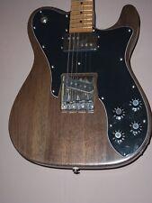 """telecaster,72 deluxe,walnut """"MJP Turner custom""""Fender pups,SH,wide range UK MADE"""