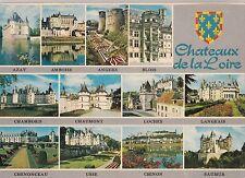 BF20361 chateaux de la loire multi views france front/back image