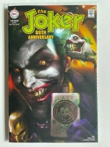 The Joker 80th Anniversary #1 Mattina Variant Batman 1st Solo Punchline DC 2020