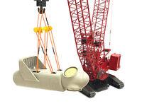 Wind Turbine Nacelle w/ Spreader Beam & Slings - 1/50 - Crane Load - Weiss Bros
