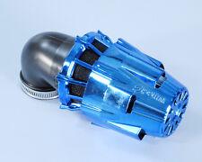 Polini Filtro Aria a Cono 203.0117 Air Box D. 37 Inclinato a 90° Blu Universale