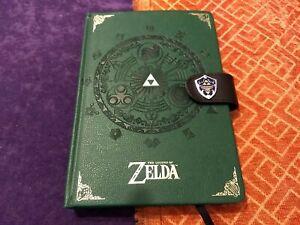 The Legend of Zelda Premium A5 Hardback Notebook Journal Book